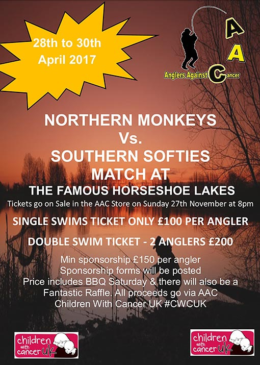 North v South Angling Match