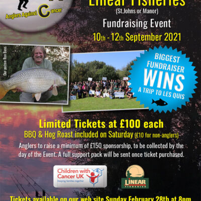 2021 AAC Angling Event at Linear Fisheries